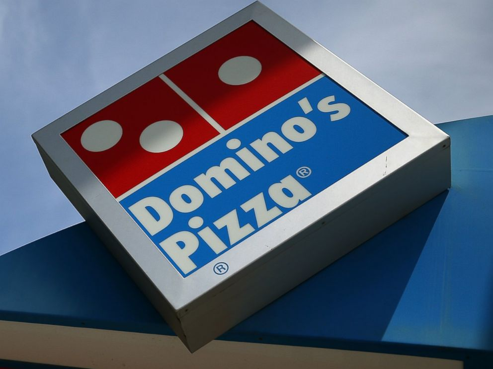 PHOTO: A Dominos Pizza sign is pictured on May 1, 2014 in San Francisco, Calif.