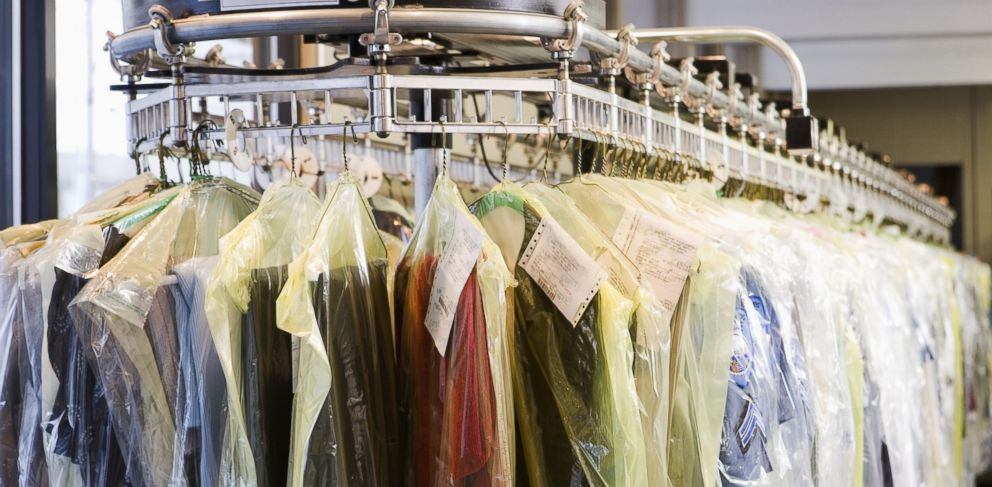 """PHOTO: From garment bags to removing stains, ABC News """"20/20"""" busted these dry cleaning myths."""