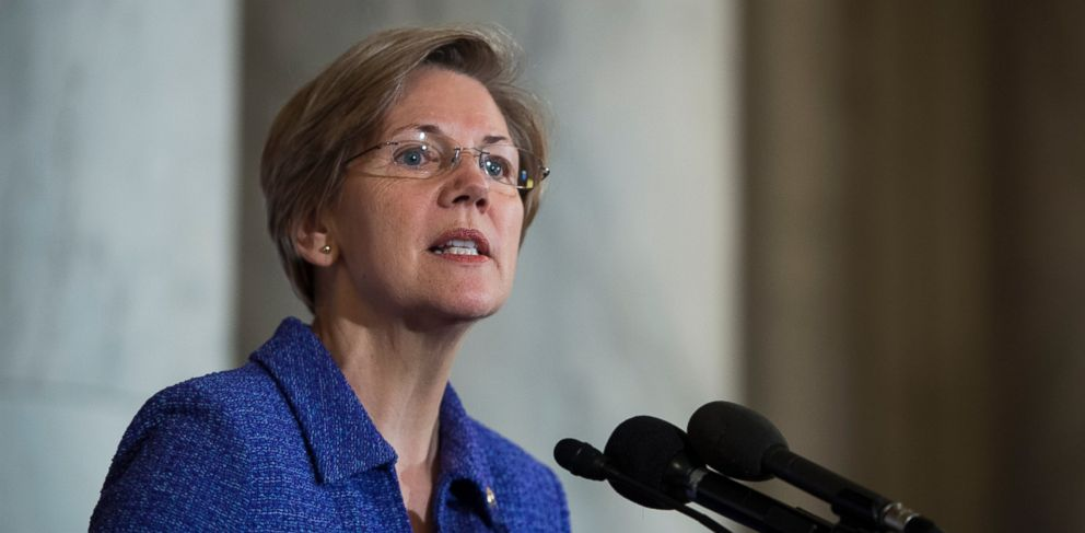 PHOTO: In this file photo, Sen. Elizabeth Warren is pictured on Nov. 12, 2013 in Washington, D.C.
