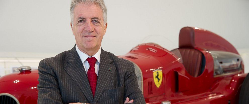 PHOTO:Piero Ferrari, son of Ferrari founder Enzo Ferrari attends the Museo Casa Enzo Ferrari Opening Press Preview, March 9, 2012 in Modena, Italy.