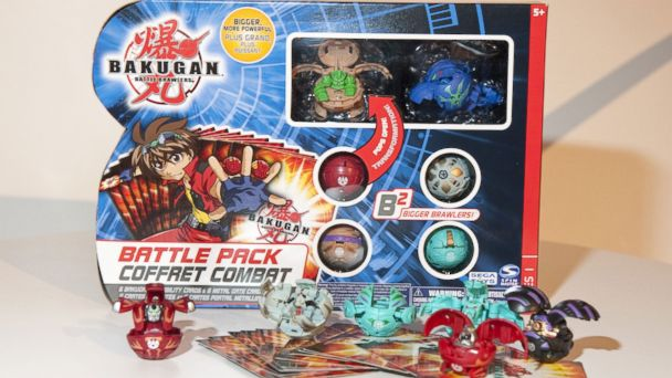 PHOTO: The Bakugan Battle Brawlers Battle Pack Series 1 Spheres, by Spin Master.