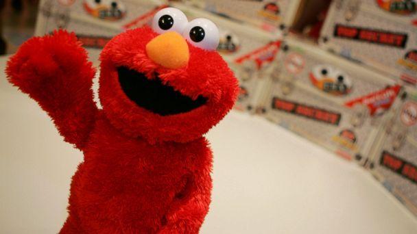 PHOTO: The T.M.X Elmo is seen at the Toys R Us store in New York, Sept. 19, 2006.