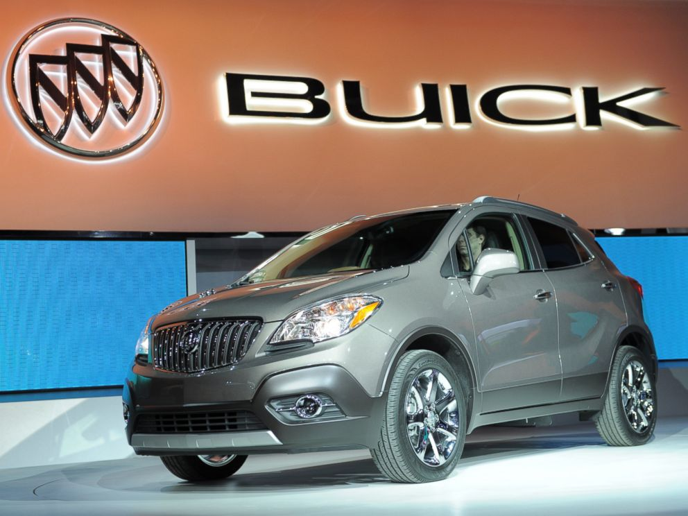 PHOTO: The 2013 Buick Encore Crossover SUV is introduced during the press preview day at the 2012 North American International Auto Show, Jan. 10, 2012, in Detroit.