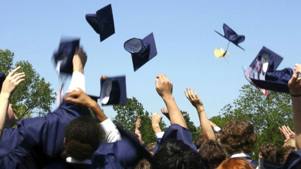 PHOTO: New grads are vulnerable to identity theft.