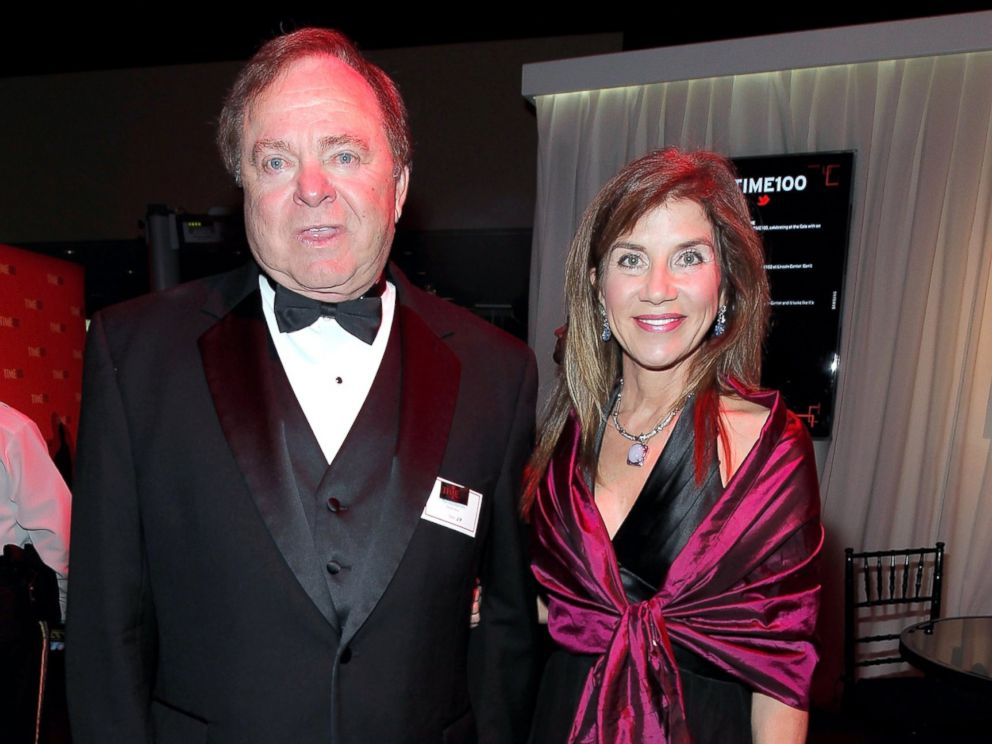 PHOTO: Harold Hamm and Sue Ann Hamm attend the TIME 100 Gala, TIMES 100 Most Influential People In The World, cocktail party at Jazz at Lincoln Center, April 24, 2012, in New York.
