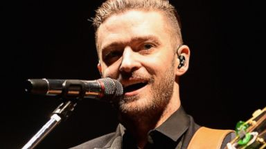 PHOTO: Justin Timberlake performs on June 10, 2014 in London.