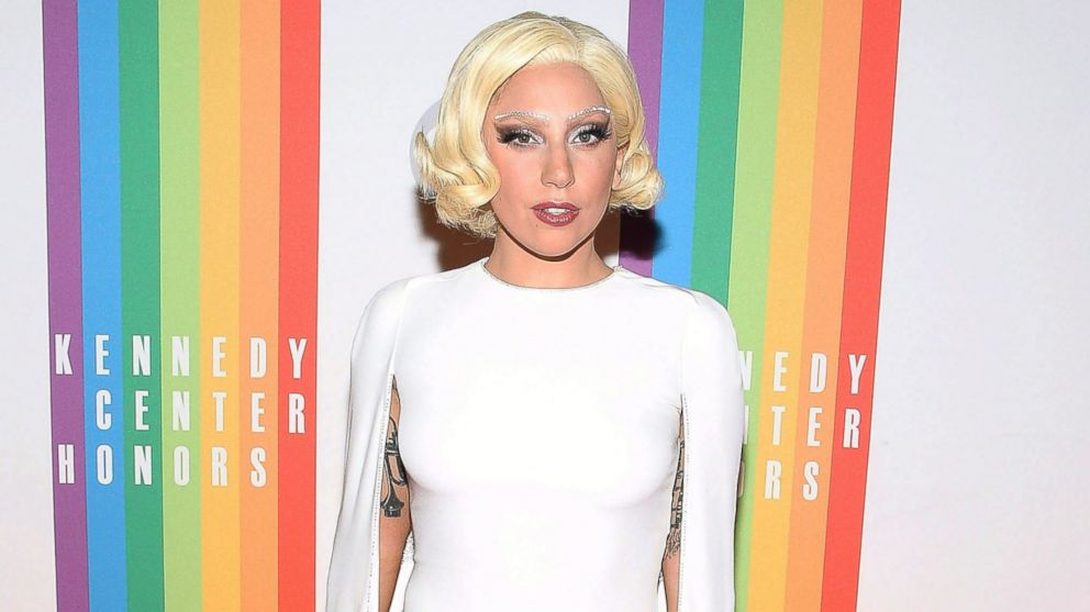 Lady Gaga attends the 37th Annual Kennedy Center Honors at the John F. Kennedy Center for the Performing Arts, Dec. 7, 2014, in Washington.