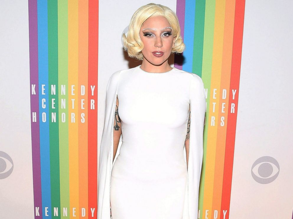 PHOTO: Lady Gaga attends the 37th Annual Kennedy Center Honors at the John F. Kennedy Center for the Performing Arts, Dec. 7, 2014, in Washington.