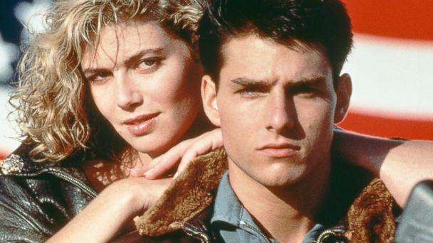 PHOTO: Tom Cruise and Kelly McGillis, in a promotional portrait for Top Gun
