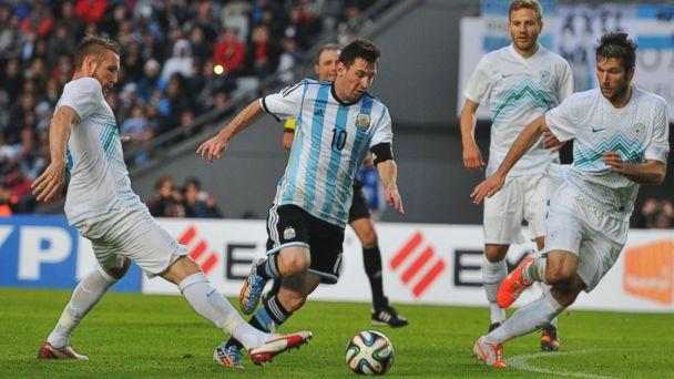 PHOTO: Lionel Messi of Argentina