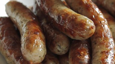 PHOTO: A plate of sausages is pictured in this stock image.
