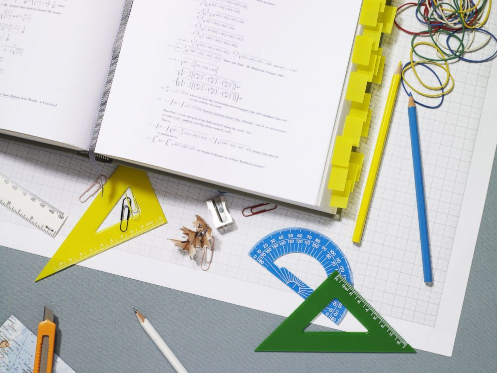 PHOTO: School supplies are pictured in this stock image.