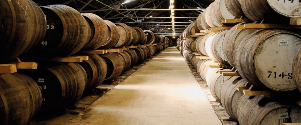 PHOTO: Glen Moray distillery is pictured in Elgin, Scotland in this 2008 file photo.