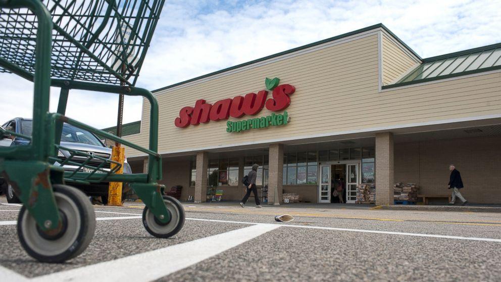 A Shaws Supermarket is seen in Portland, Maine, July 15, 2014.