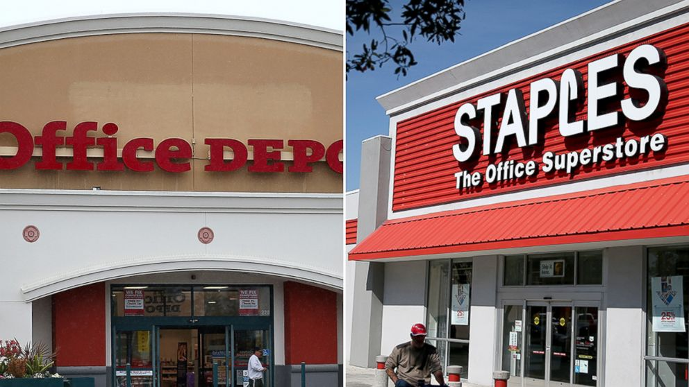 Staples Vs Office Depot How The Two Stack Up  Abc News