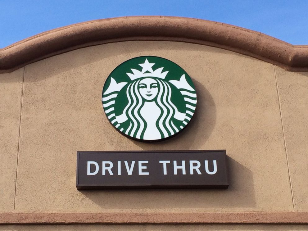 PHOTO: Starbucks Coffee sign is pictured Jan. 29, 2015.