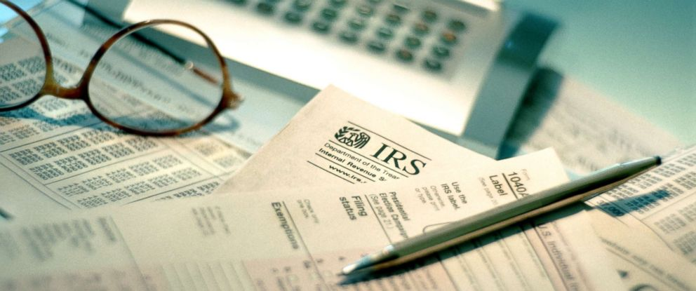 PHOTO: Tax documents are seen in this stock photo.