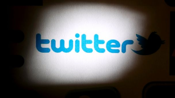 PHOTO: The Twitter Inc. logo is arranged for a photograph in Washington, Sept. 13, 2013.