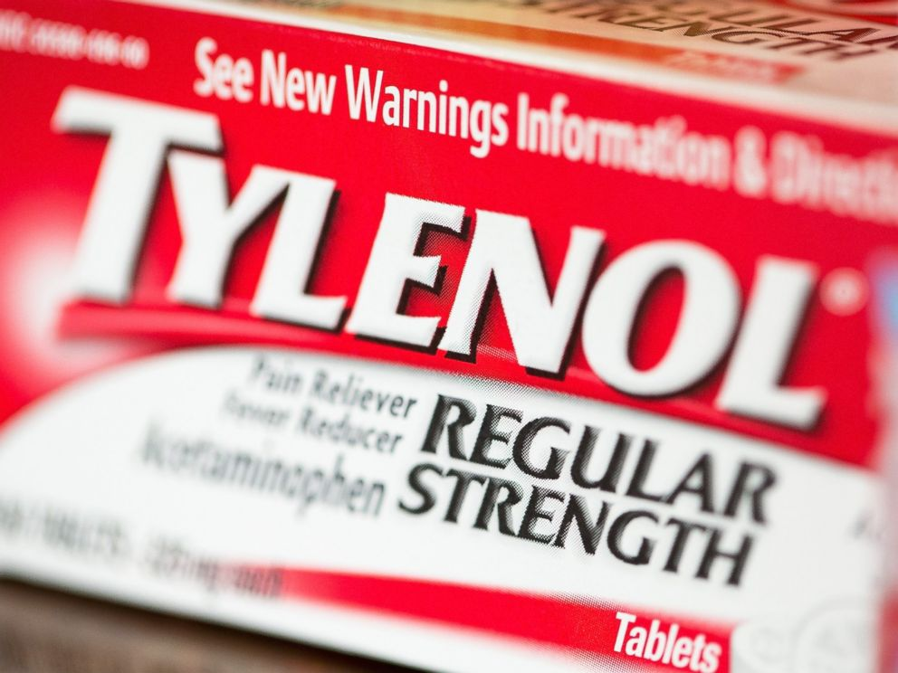 PHOTO: Tylenol is pictured on April 14, 2015 in Chicago.