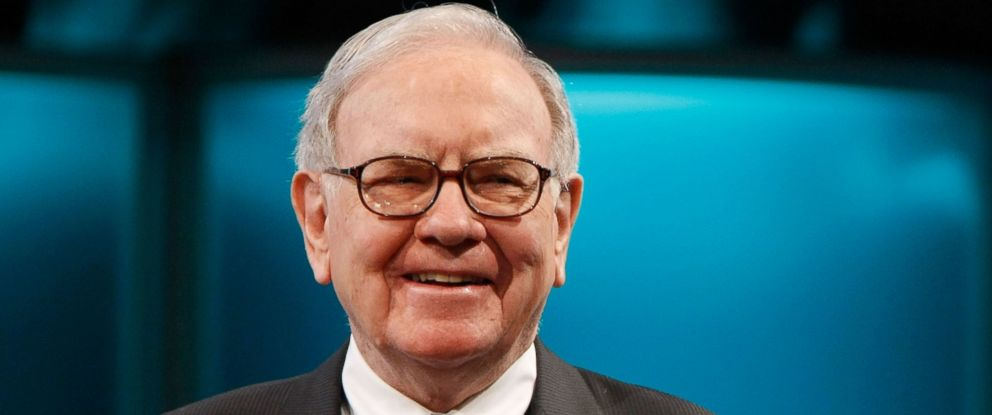 PHOTO: Businessman Warren Buffett speaks at the 2008 Womens Conference at the Long Beach Convention Center in this 22, 2008, file photo in Long Beach, Calif.