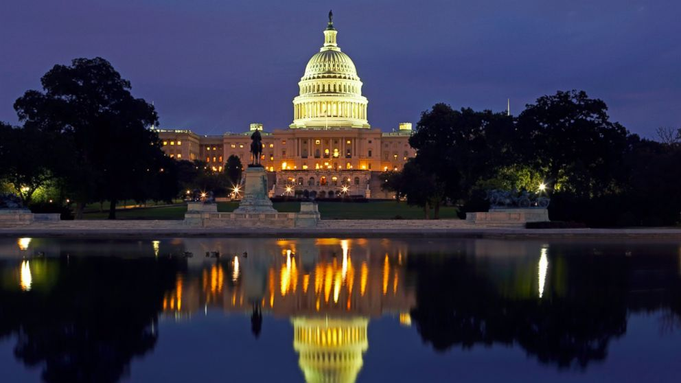 In this file photo, the U.S. Capitol building is pictured in Washington D.C.