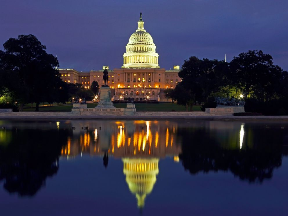 PHOTO: In this file photo, the U.S. Capitol building is pictured in Washington D.C.