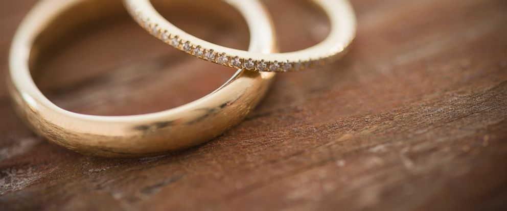 PHOTO: Wedding rings are pictured in this stock photo.