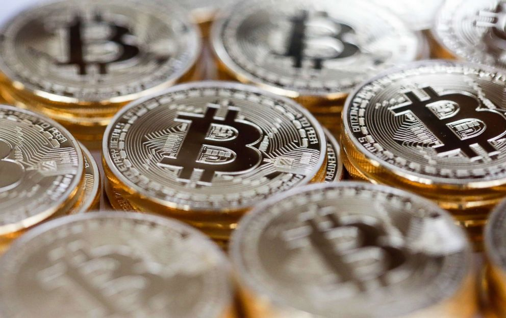 PHOTO: A collection of Bitcoins is pictured on Dec. 10, 2015.