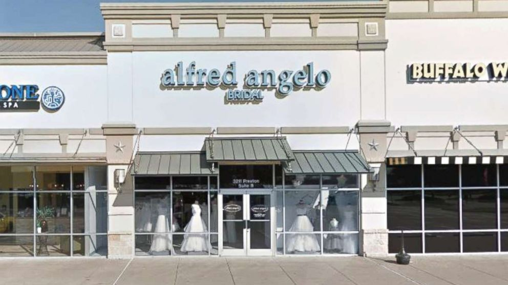 An Alfred Angelo Bridal store is seen here.