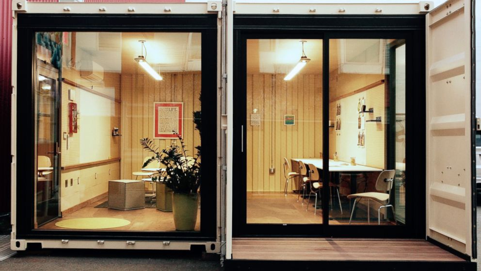 Cargo Container Office. Cargo Container Office