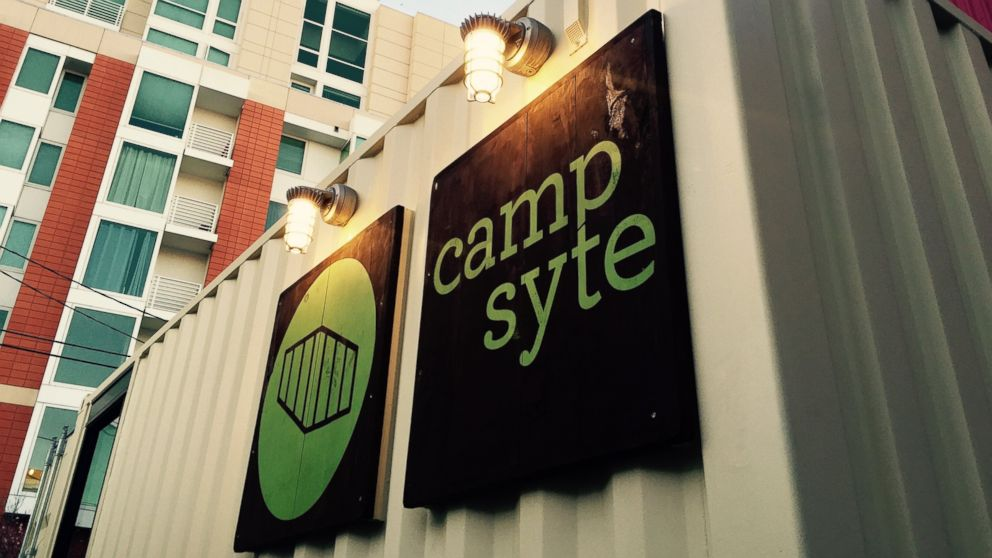 Campsyte is leasing the alternative office space to San Francisco startups because of the expensive real estate market.