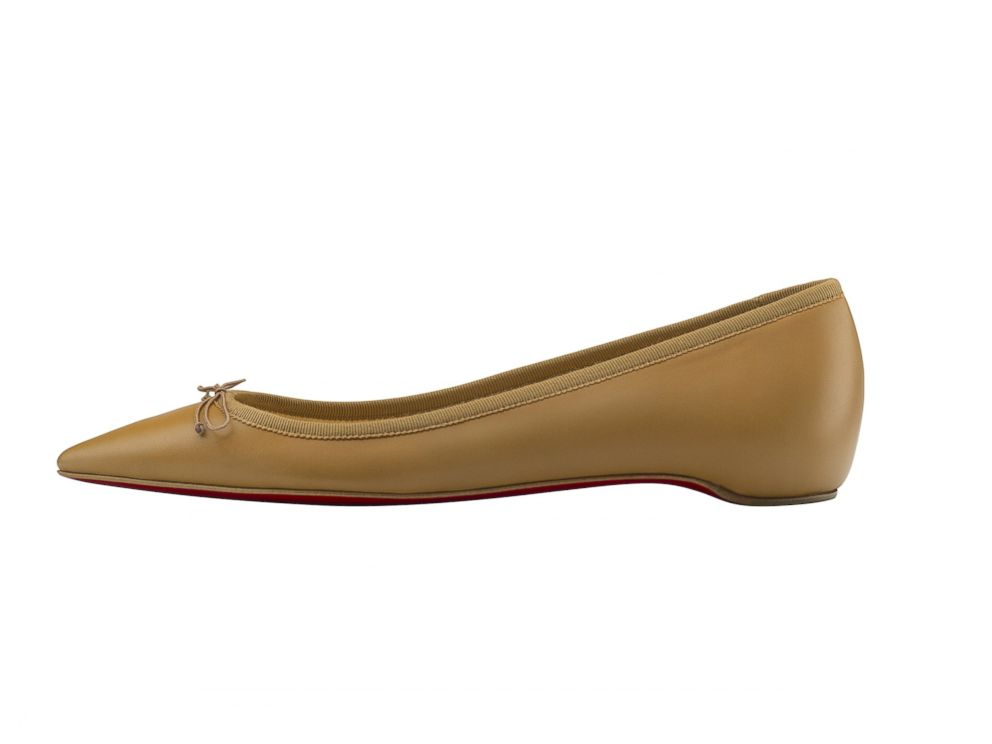 4d95c7927487e0 PHOTO: Christian Louboutin introduces a pointy-toe ballet flat for every  skin tone.