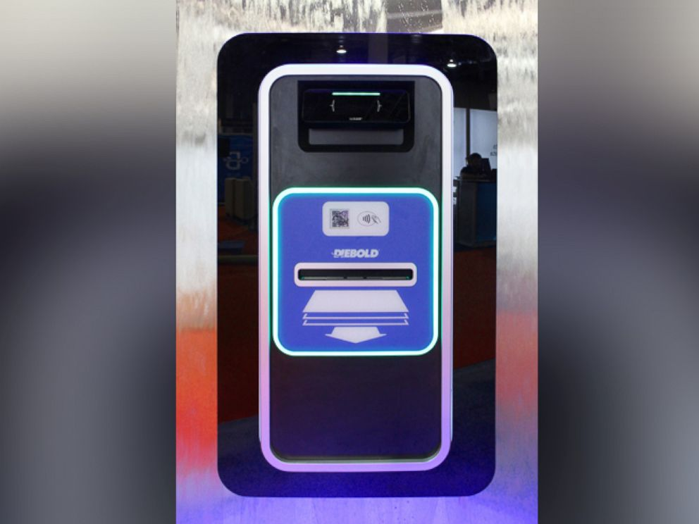 PHOTO: Diebold Inc. introduced the Irving ATM concept, Oct. 26, 2015.