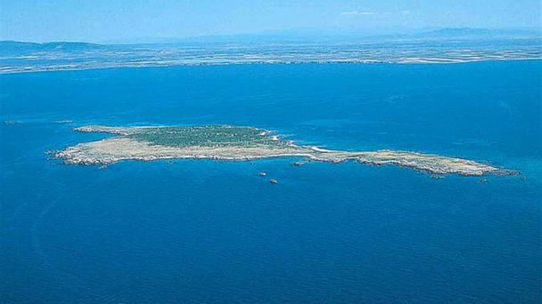 PHOTO: This beautiful Mediterranean island off the coast of Sardinia can be yours.