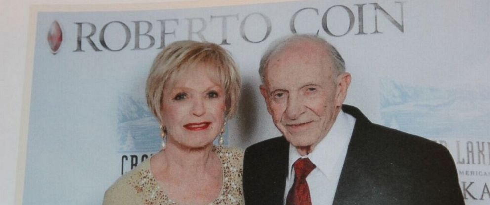 PHOTO: Sandy and Hartley Gaylord at an event.