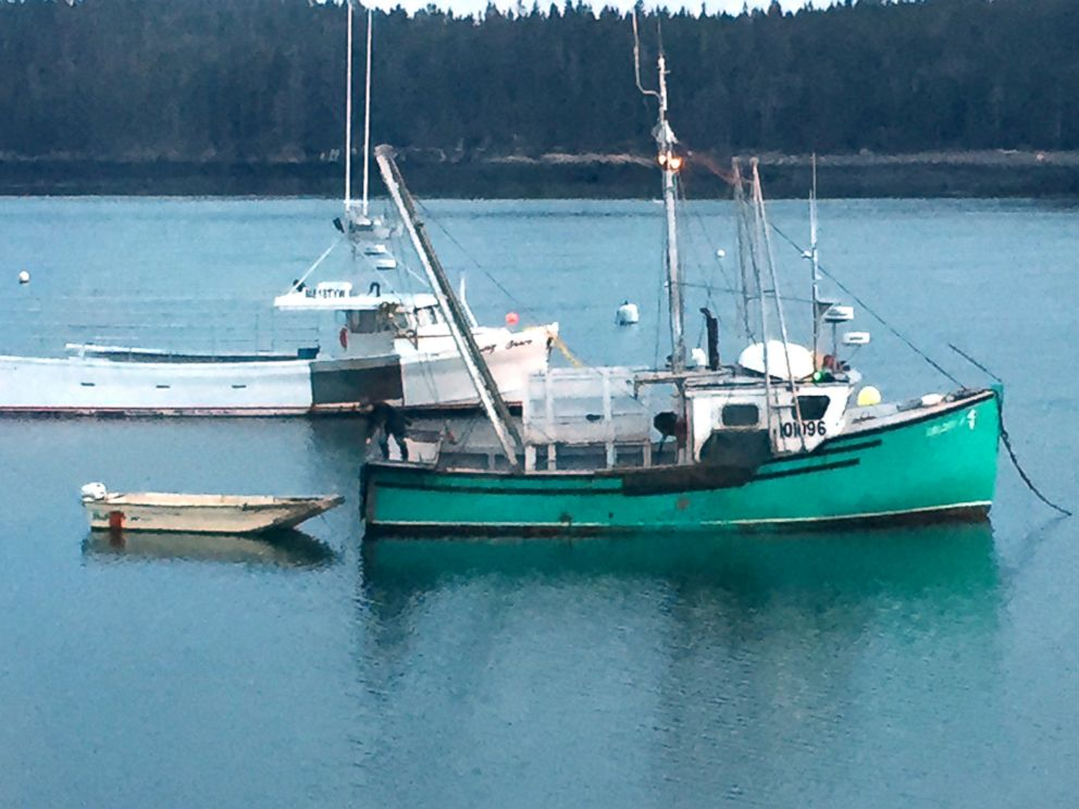PHOTO: Kristan Porters boat, Brandon Jay, is used to catch lobsters for seven months of the year while the other five months are dedicated to scallops.