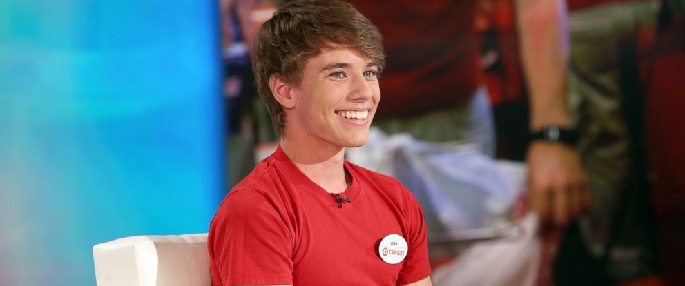 PHOTO: Alex Lee became an overnight celebrity after a photo of him working at Target went viral.