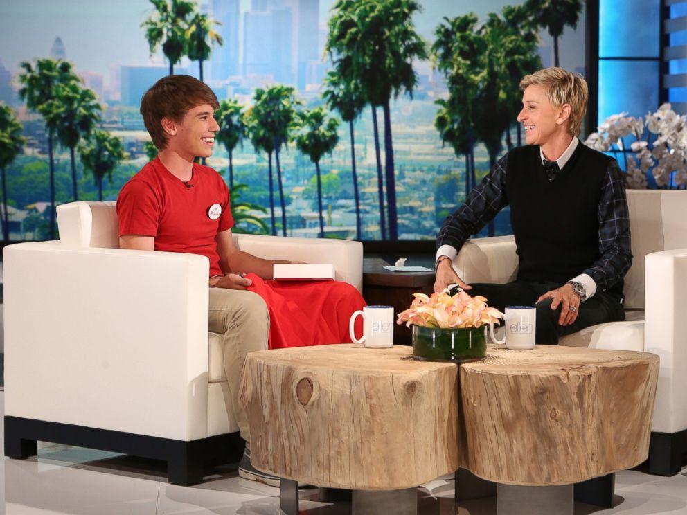 PHOTO: Alex Lee appears on The Ellen DeGeneres Show, Nov. 5, 2014.