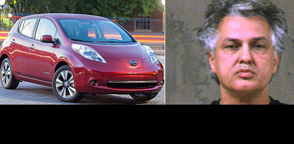 PHOTO: Kaveh Kamooneh was arrested for charging his electric car with an exterior outlet at Chamblee Middle School in Chamblee, Ga.