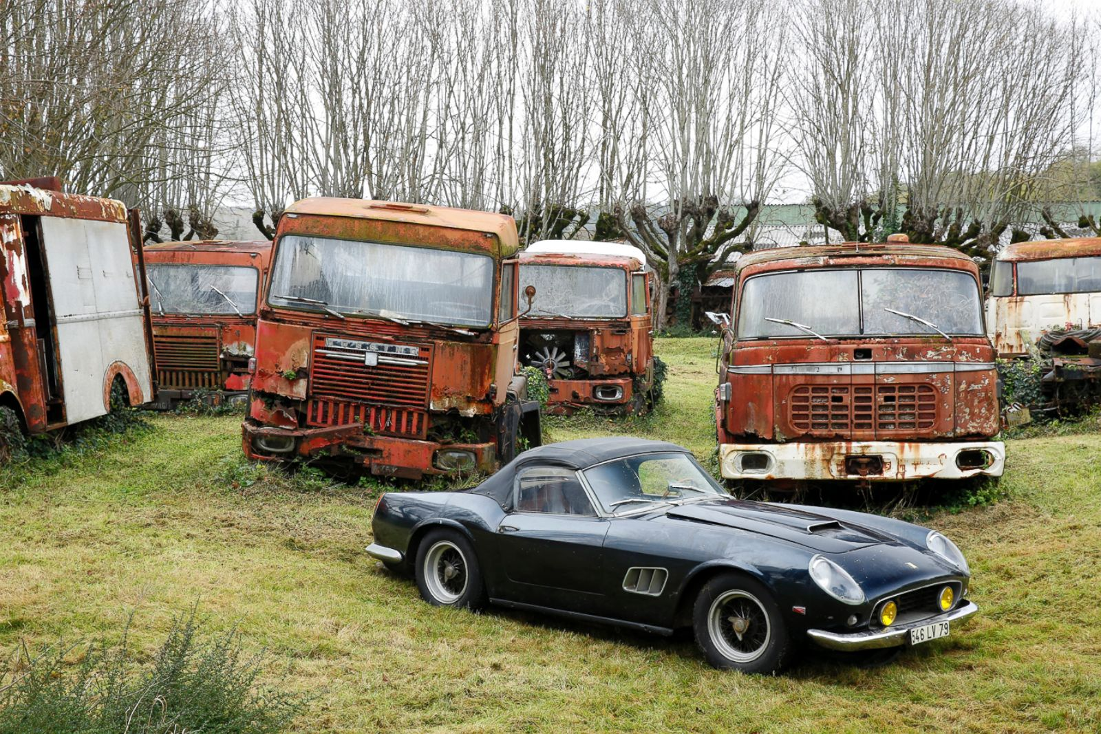Rare Cars Discovered in French Barn to Be Auctioned