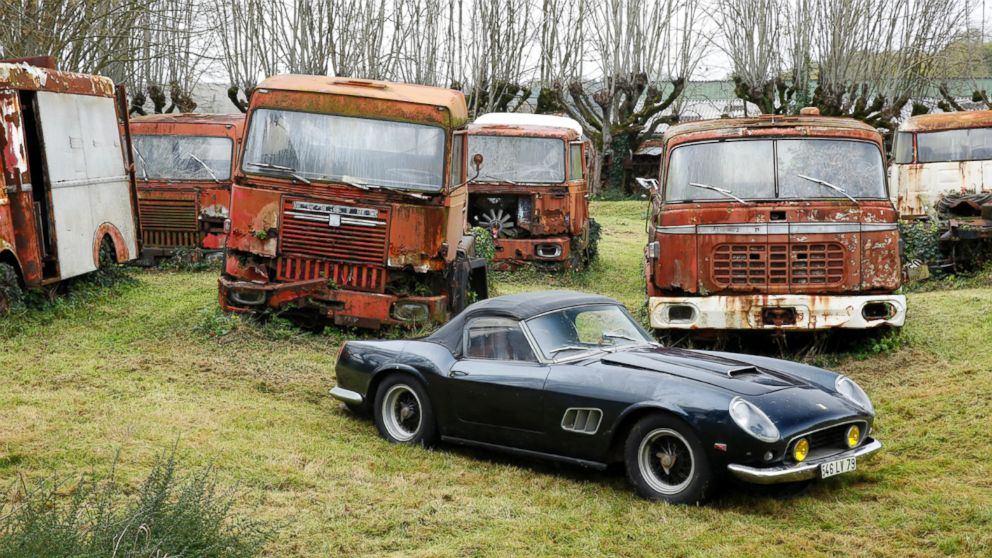 Rare Cars Discovered in French Barn to Be Auctioned Photos - ABC News