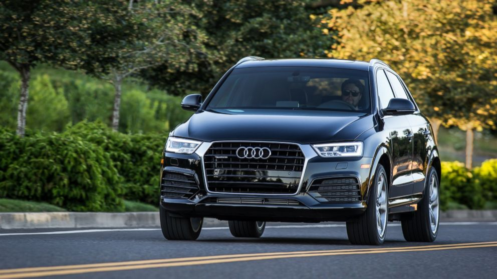 Loren Angelo, director of marketing for Audi USA, says the carmaker has seen a 23 percent spike in millennial drivers over the last two years. One of the most popular Audi models with millennials is the Q3 crossover, shown here.