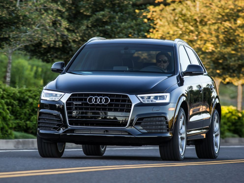 PHOTO: Loren Angelo, director of marketing for Audi USA, says the carmaker has seen a 23 percent spike in millennial drivers over the last two years. One of the most popular Audi models with millennials is the Q3 crossover, shown here.