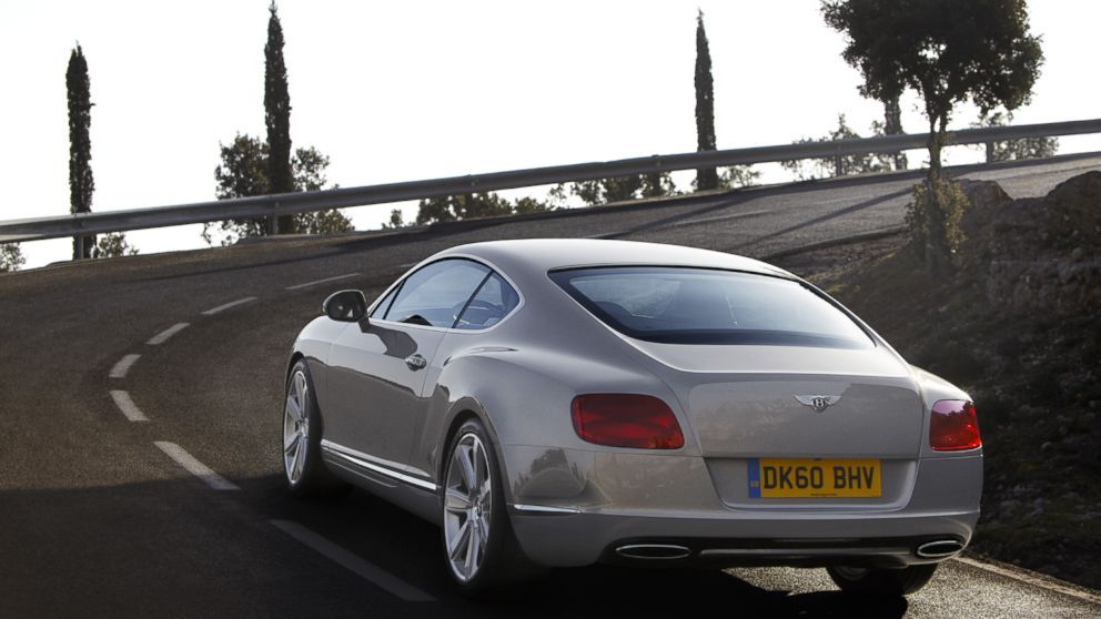 Luxury British carmaker Bentley says more millennials are buying and leasing the Continental GT, shown here.