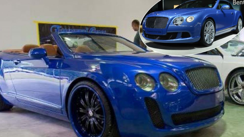 Chrysler Ford Vehicles Transformed In Bentley Luxury Cars Abc News