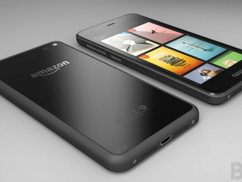 Amazon Unveils New 3 D Fire Phone Abc News