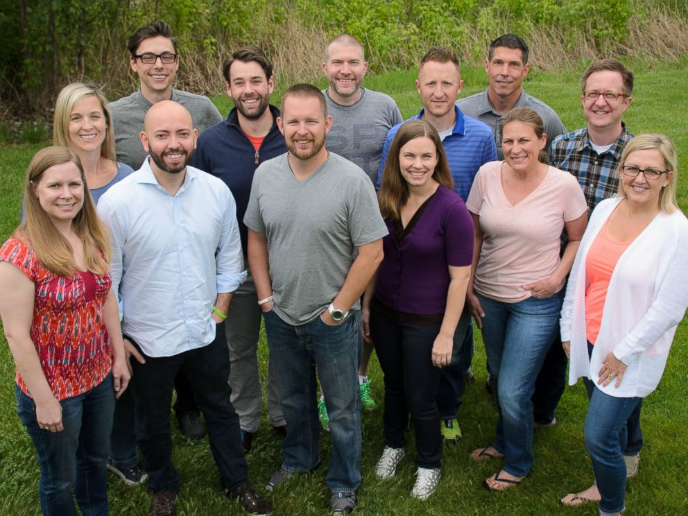 PHOTO: The team of Blooom, a personal finance company based in Kansas City, Kansas.