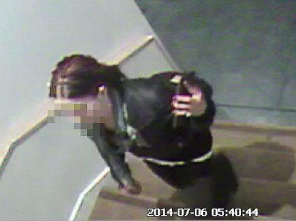 PHOTO: Buildzoom posted this grab from their office video surveillance showing an alleged burglar.