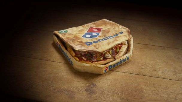 "PHOTO: Dominos celebrated April Fools Day with ""Edibox,"" an edible pizza box."