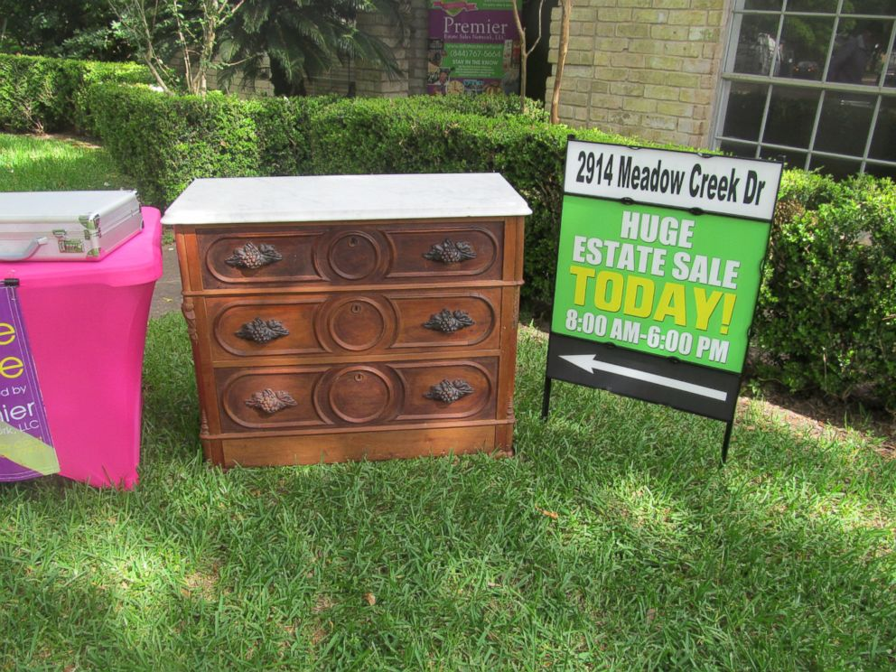 PHOTO: Emil Knodell purchased a piece of furniture that contained a drawer of treasures for $100 at an estate sale.